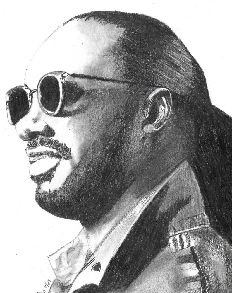 Stevie Wonder by patrick